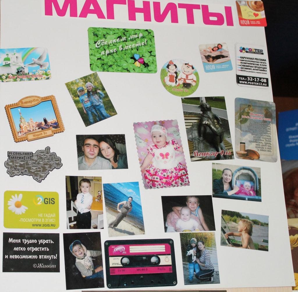 Магниты с фотографиями в Йошкар-Оле